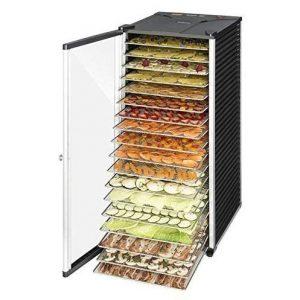 Deshidratador de alimentos con 18 pisos