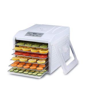 Deshidratador de alimentos con pantalla digital