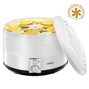 Deshidratador de alimentos con potente ventilador