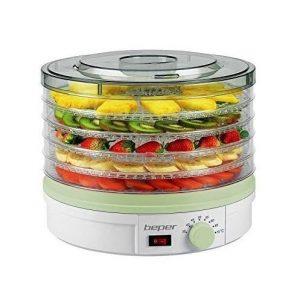 Deshidratador de alimentos con temperatura ajustable