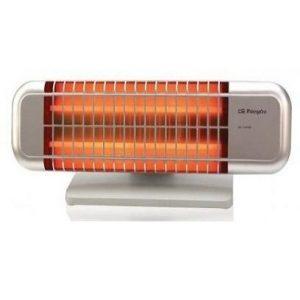 Estufa eléctrica con soporte antivuelco