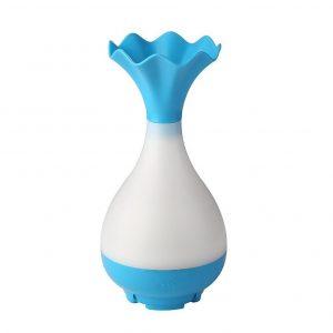 Humidificador ultrasónico con forma de jarrón