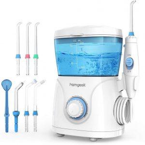 Irrigador dental con 7 boquillas
