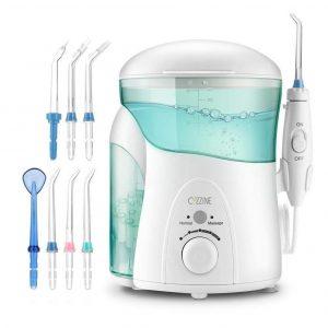Irrigador dental con ajustes de presión