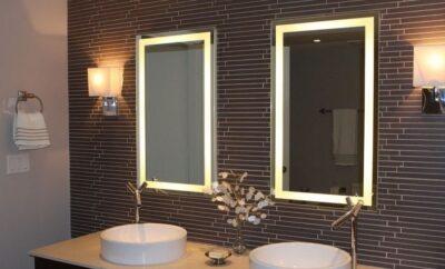 Espejos de baño con luz