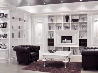 Muebles de salón clásicos