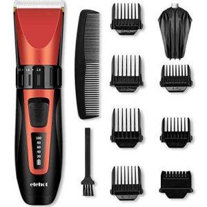 Máquina de afeitar roja