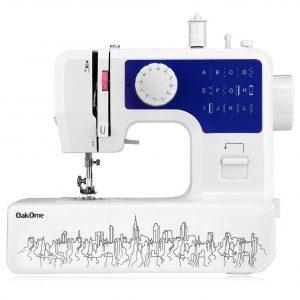 Máquina de coser portátil con dibujo