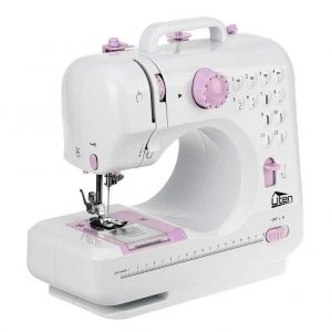 Máquina de coser portátil doméstica