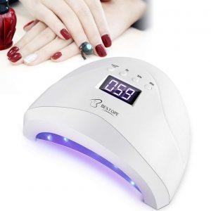 Secador de uñas con sensor