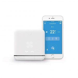 Termostato climatización inteligente