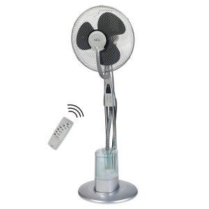 Ventilador nebulizador de pie oscilante