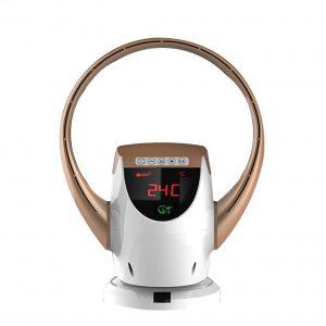 Ventilador sin aspas con pantalla LCD